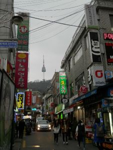 View to N Seoul Tower